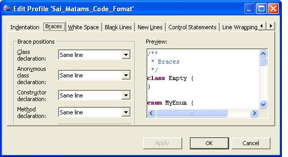 Eclipse_code_format